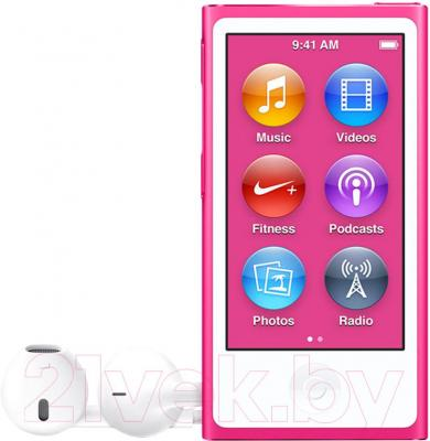 MP3-плеер Apple iPod nano 16Gb MKMV2QB/A (розовый)