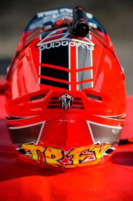 Платформа Replay XD SnapTray (5шт, плоские) - пример крепления камеры на шлем