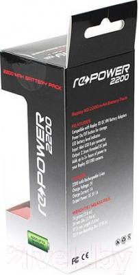 Внешний аккумулятор Replay XD RePower 2200 mAh - коробка