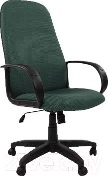Кресло офисное Chairman 279 (черно-зеленый)