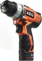 Профессиональная дрель-шуруповерт AEG Powertools BS12C2 LI-151C (4935451005) -