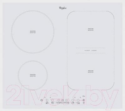 Индукционная варочная панель Whirlpool ACM 808/BA/WH
