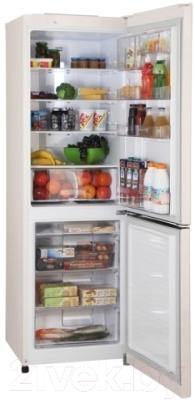 Холодильник с морозильником LG GA-E409SERA