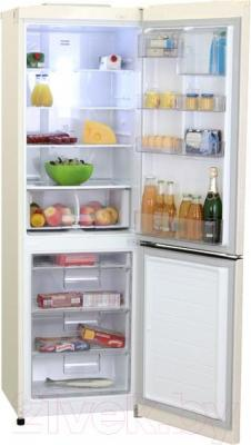 Холодильник с морозильником LG GA-M409SERA