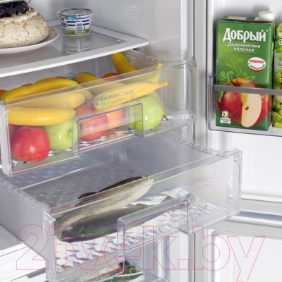 Холодильник с морозильником LG GA-M589ZEQZ