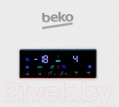 Холодильник с морозильником Beko RCNK295E21W