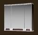 Шкаф с зеркалом для ванной Ванланд Венеция 1-80 (венге) -