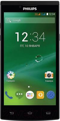 Смартфон Philips S398 (черный)