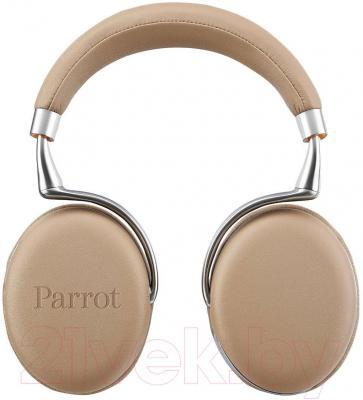 Наушники-гарнитура Parrot Zik 2.0 (светло-коричневый)