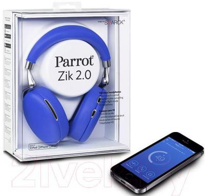 Наушники-гарнитура Parrot Zik 2.0 (синий)