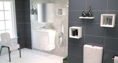 Плитка для стен ванной Cersanit Andrea Графит 1 (400x250)
