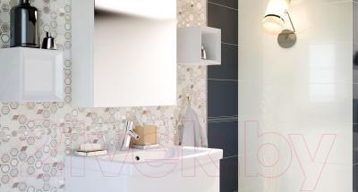 Бордюр для ванной Cersanit Andrea Графит (400x30)
