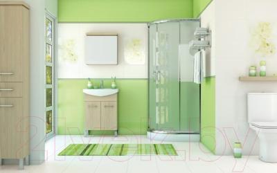 Декоративная плитка для ванной Cersanit Панно Andrea Цветок (500x400)