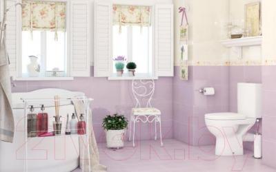 Плитка для пола ванной Cersanit Beato Фиолет 1 (330x330)