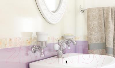 Декоративная плитка Cersanit Beata Цветок (400x250)