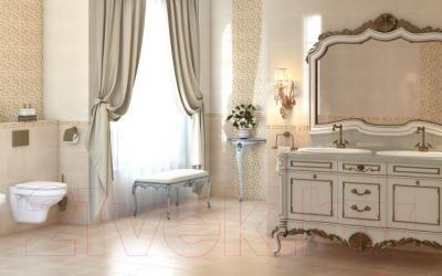Бордюр для ванной Cersanit Jaklin Классик (250x35)