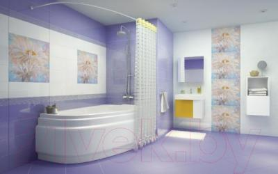 Плитка для стен ванной Cersanit Muza C-MUS051D (600x200)