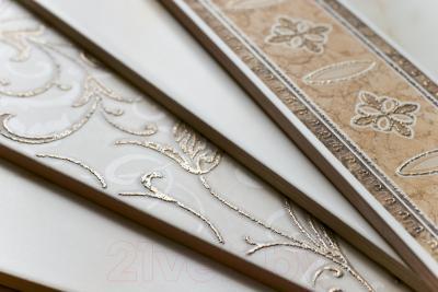 Декоративная  плитка для пола Cersanit Вставка Carrara Светло-бежевый CE6G302 (110x110)