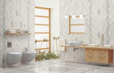 Декоративная плитка Cersanit Панно Carrara Светло-Голубой CE6G494 (880x880)
