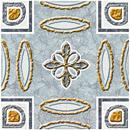 Декоративная плитка Cersanit Вставка Carrara Светло-голубой CE6G492 (110x110)
