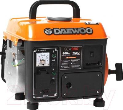 Бензиновый генератор Daewoo Power GDA 980