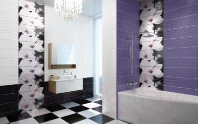 Декоративная плитка для ванной Cersanit Панно Onda C-OD2T233DT (600x600)