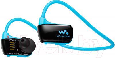 Наушники-плеер Sony NWZ-W274S (8Гб, голубой)