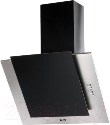 Вытяжка декоративная Zorg Technology Вертикал А (Titan) 750 (60, нержавейка/черное стекло)