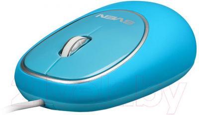 Мышь Sven RX-555 Antistress (синий)