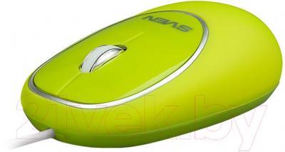Мышь Sven RX-555 Antistress (зеленый)
