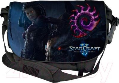 Сумка для ноутбука Razer StarCraft 2 Zerg Messenger Bag 15.6