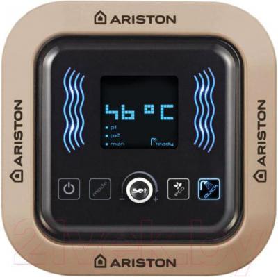 Накопительный водонагреватель Ariston ABS VLS Inox QH 80 D - панель управления