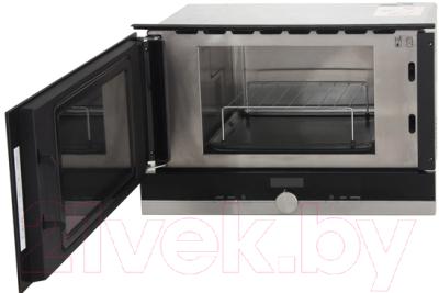 Микроволновая печь Siemens BE634LGS1 - с открытой дверцей