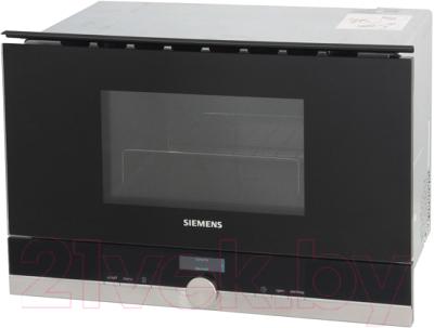 Микроволновая печь Siemens BE634LGS1 - вид спереди