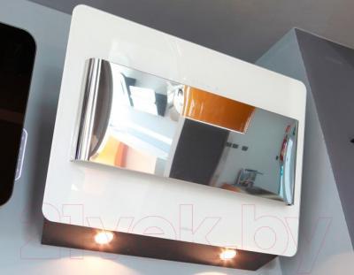 Вытяжка декоративная Elica Belt Lux WH/A/80 - галогенные лампы