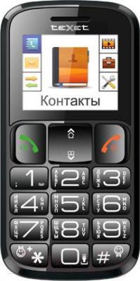 Мобильный телефон TeXet TM-B114 (черный)