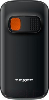 Мобильный телефон TeXet TM-B116 (черный) - вид сзади