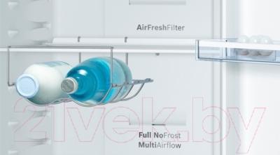 Холодильник с морозильником Bosch KGN39VL15R