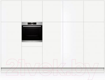 Электрический духовой шкаф Bosch HBG6750S1