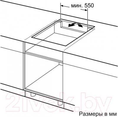 Индукционная варочная панель Bosch PIT651F17E