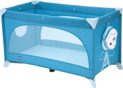 Кровать-манеж Chicco Easy Sleep (Light Blue) - общий вид
