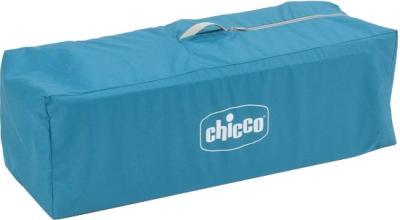 Кровать-манеж Chicco Easy Sleep (Light Blue) - манеж в сложенном виде в сумке-переноске
