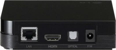 Медиаплеер LG SP 520 - вид сзади