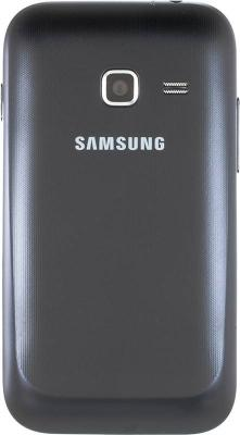 Смартфон Samsung Galaxy Ace Duos / S6802 (черный) - задняя панель