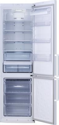 Холодильник с морозильником Samsung RL48RRCSW1 - внутренний вид