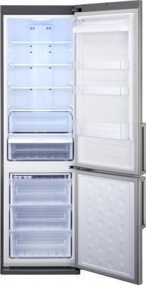 Холодильник с морозильником Samsung RL50RRCMG1 - внутренний вид