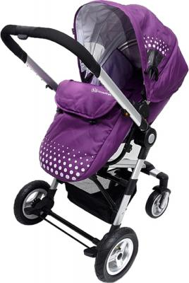 Детская универсальная коляска KinderKraft Kraft 5 Violet - общий вид