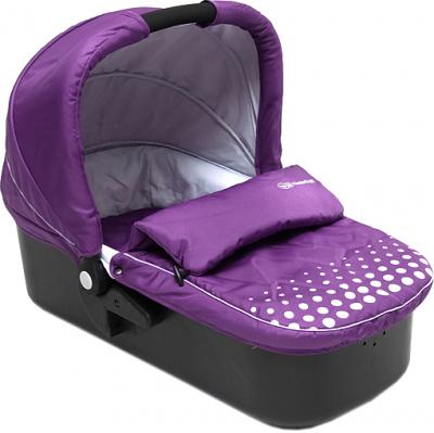 Детская универсальная коляска KinderKraft Kraft 5 Violet - люлька