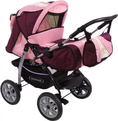 Детская универсальная коляска Anmar Rosse Golden (Pink) - общий вид
