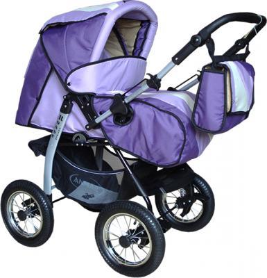 Детская универсальная коляска Anmar Rosse Golden Violet - общий вид
